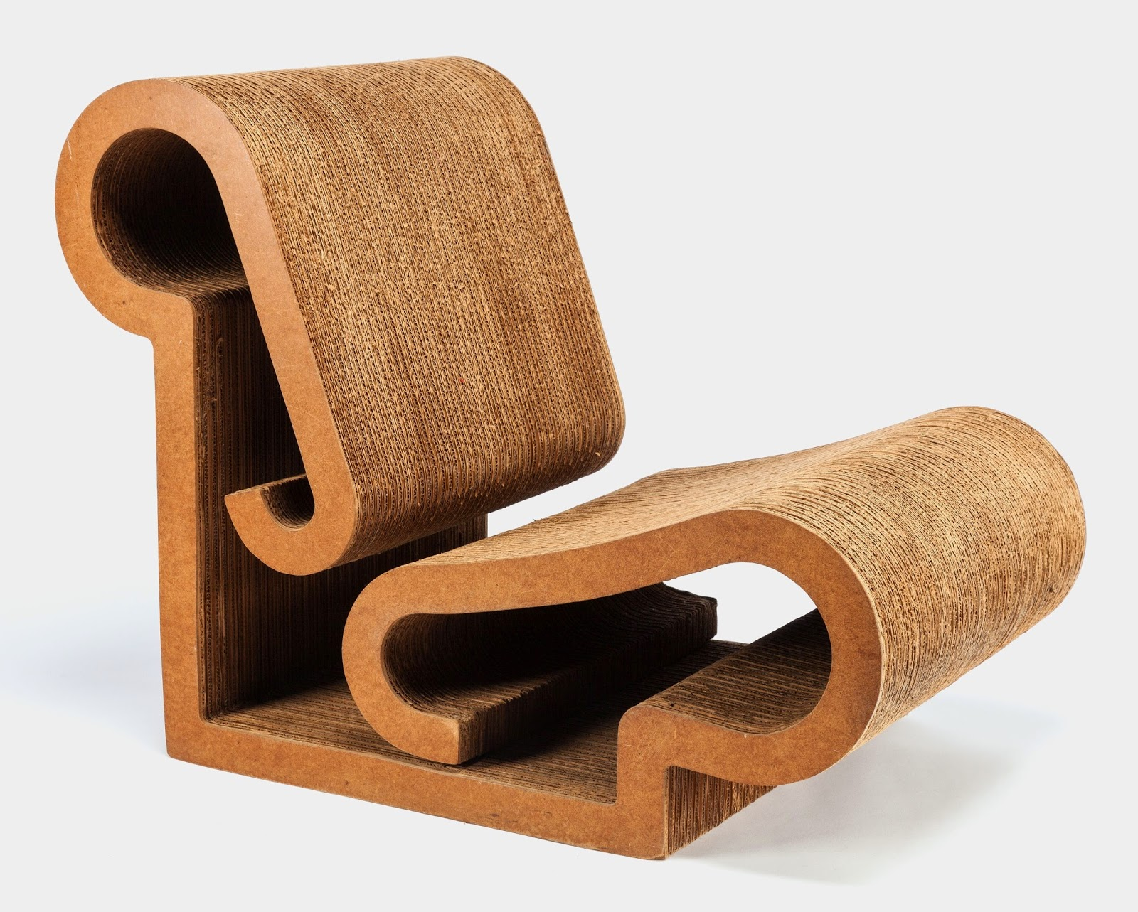 70s chairs is frank o gehry s cardboard chair wiggle side chair - Frank Gehry 1972 Contour Lounge Chair 2 000