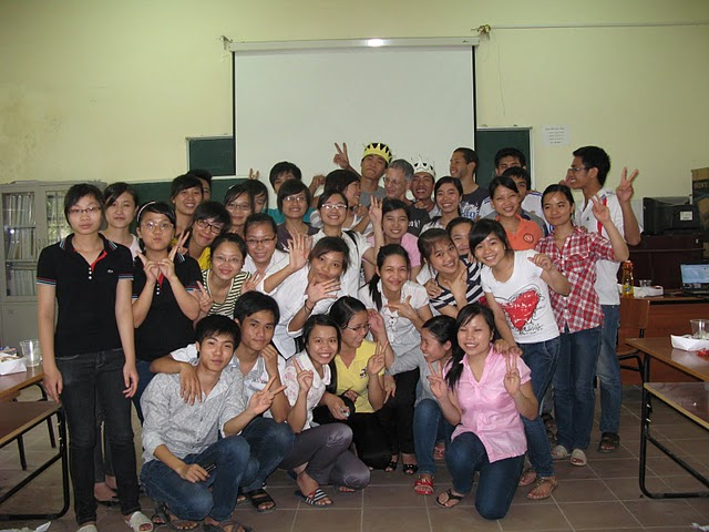 The English Class, Ha Noi University of Agriculture