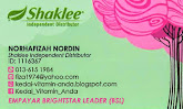 SHAKLEE BUSINESS CARD