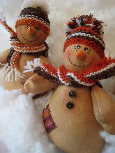 мастер-класс снеговик