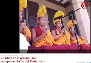 Ritual de prosperidad del día de la inauguración, Salón del Esoterismo de Donostia
