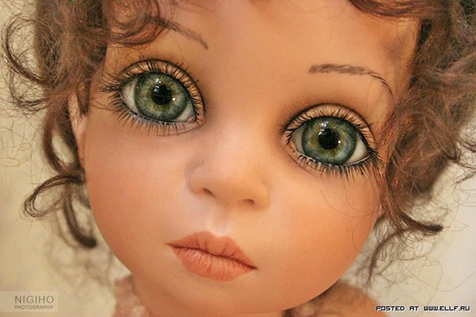 Как сделать глаза для кукол двигающимися