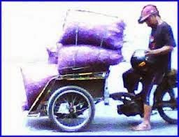 Cakto, becak motor ala Banyuwangi