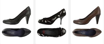 zapatos tacon Replay