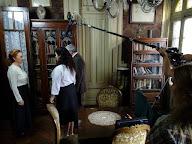"""Una escena de la filmación del corto """"El dia después"""""""