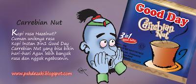 Kopi Instan & Cappucino Good Day, Kopi Gaul Paling Enak