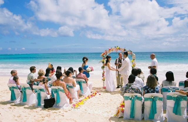 hawaii beach weddings free stockphoto