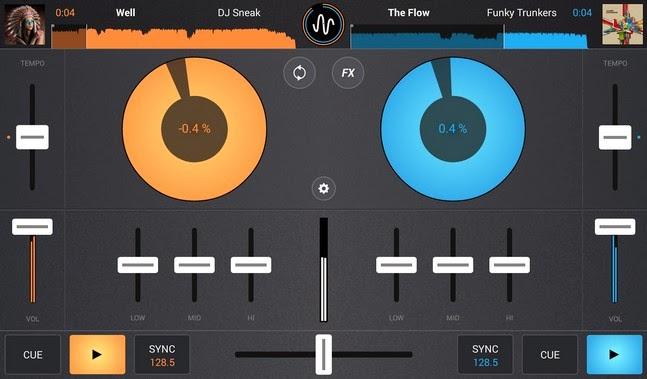 Cross DJ android apk - Screenshoot