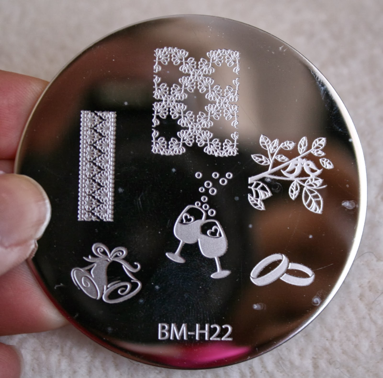 bundle monster nail stamping plates set collection holiday 2013 nails art stamp konad bm-h22