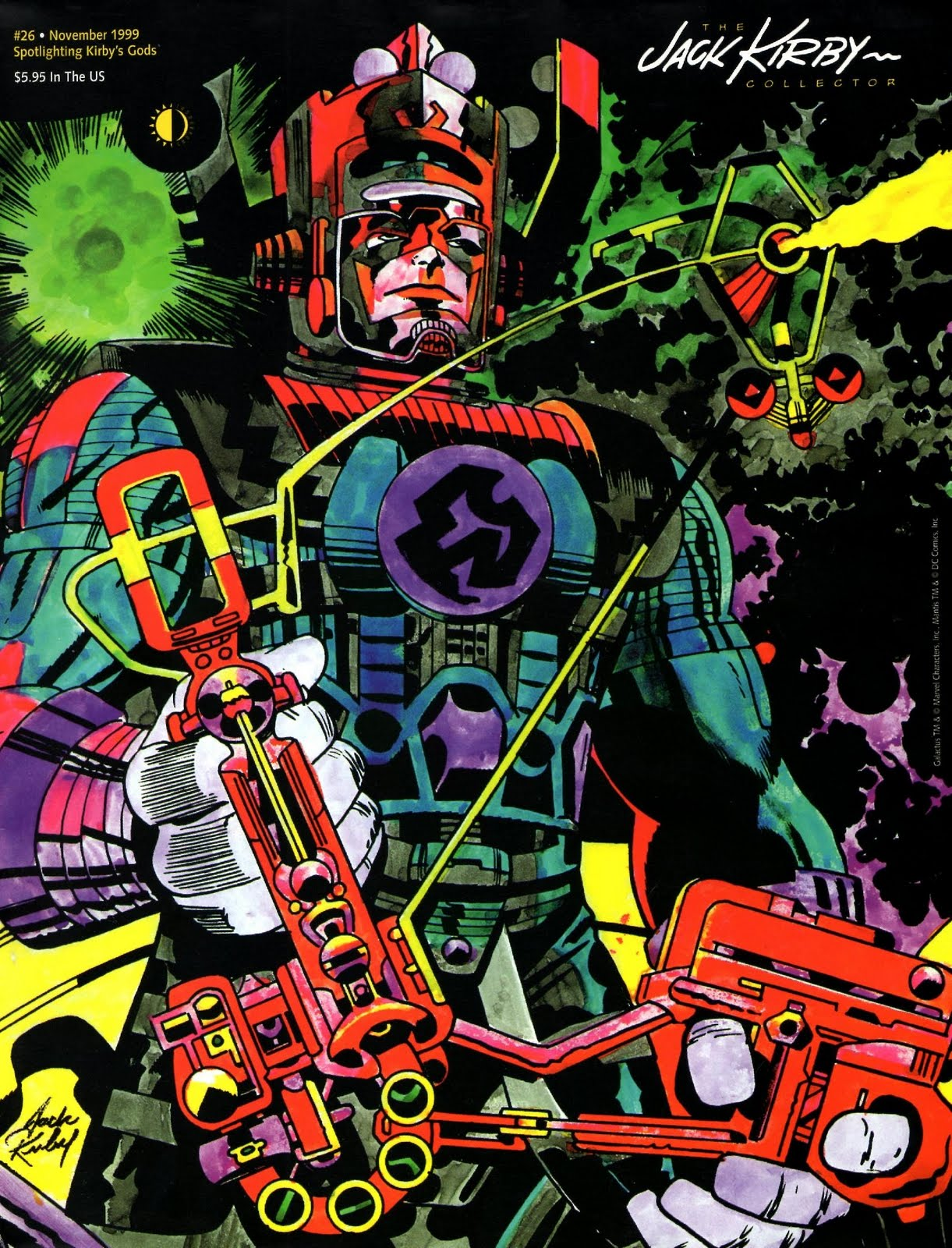 Cap'n's Comics: Some Jack Kirby