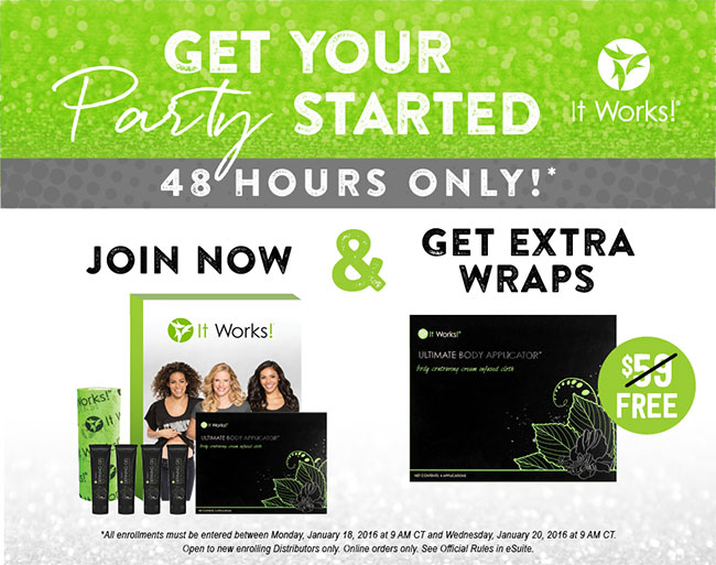 Super Start your NEW It Works business off right! | Body Wrap Me Now JX37