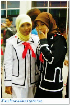 vampire knight uniform versi hijab