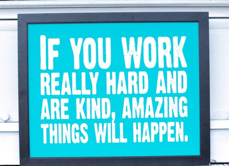 hard work quotes with images motivational and