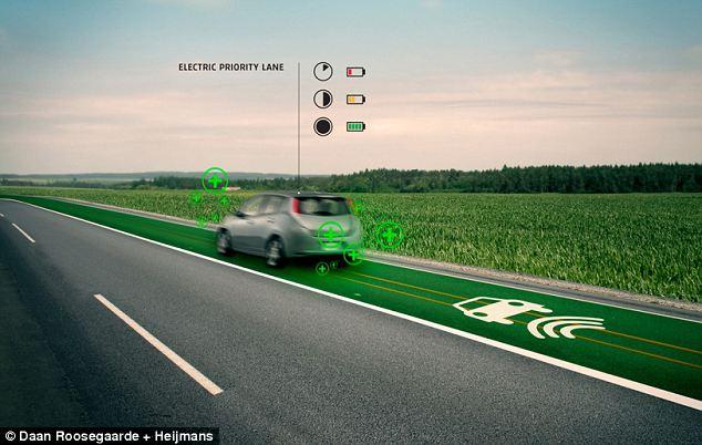 Teknologi Lebuhraya Smart Highway - Bercahaya Bila Gelap