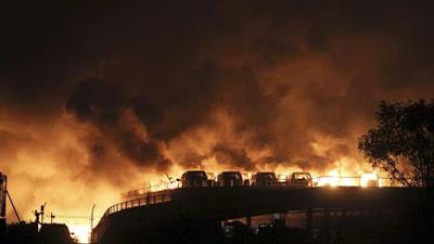 Ledakan di Cina