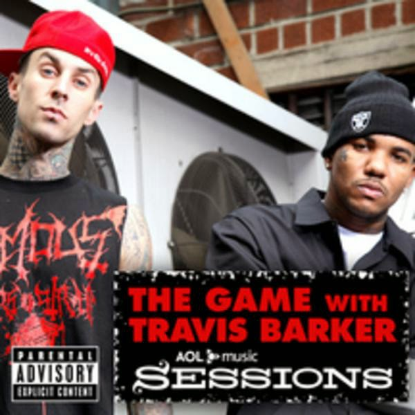 The Game with Travis Barker - The Game with Travis Barker: AOL Music Sessions - EP Cover
