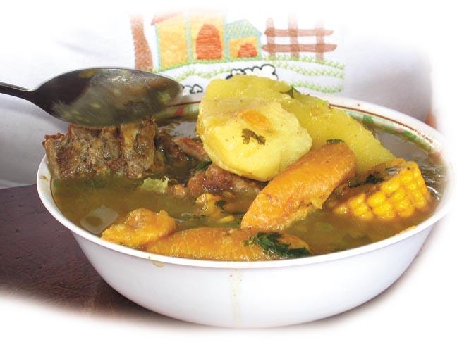 Recetas saludables de Olla de carne de Costa Rica