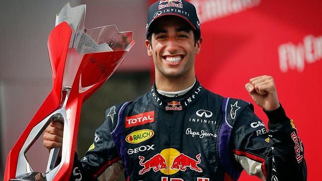 Ricciardo rompió la hegemonía de Mercedes y consiguió su primera victoria