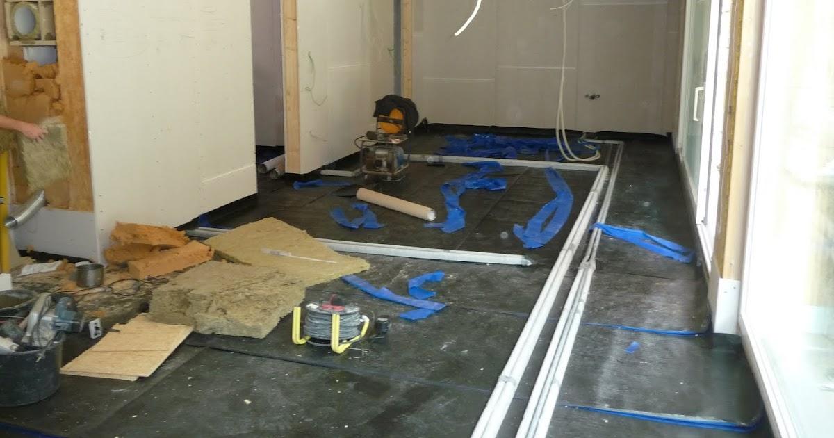 house9x19 folienabdichtung f r estrich. Black Bedroom Furniture Sets. Home Design Ideas