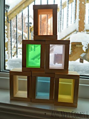 DIY color blocks from And Next Comes L
