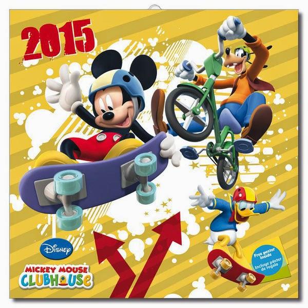 Calendario Mickey Mouse 2015