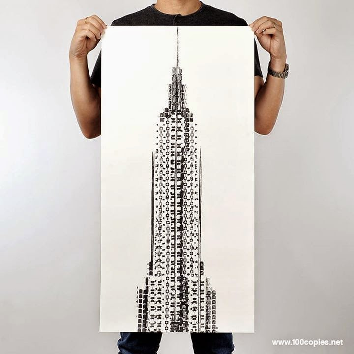 07-Empire-State-Building-NY-US-Thomas-Yang-Art-From-Bicycle-Drawings-in-100copies--www-designstack-co