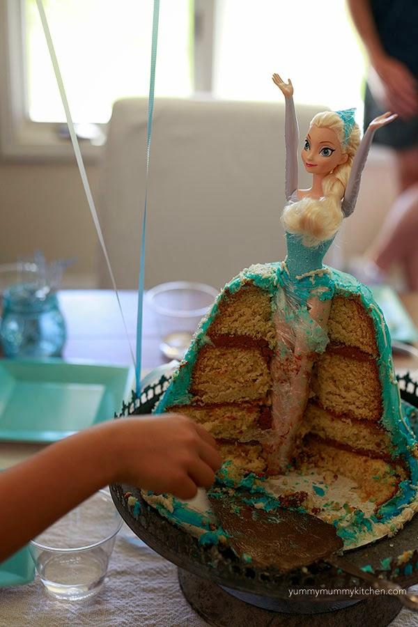 Frozen Elsa Doll Cake Ideas