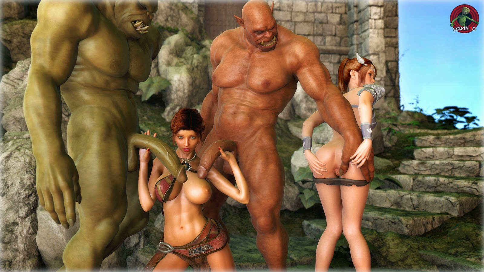 Naked pictures of 3d ogre monsters cartoon pictures