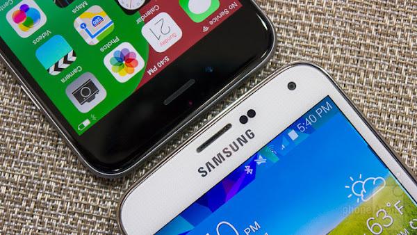 Apple iPhone 6 vs. Samsung Galaxy S5