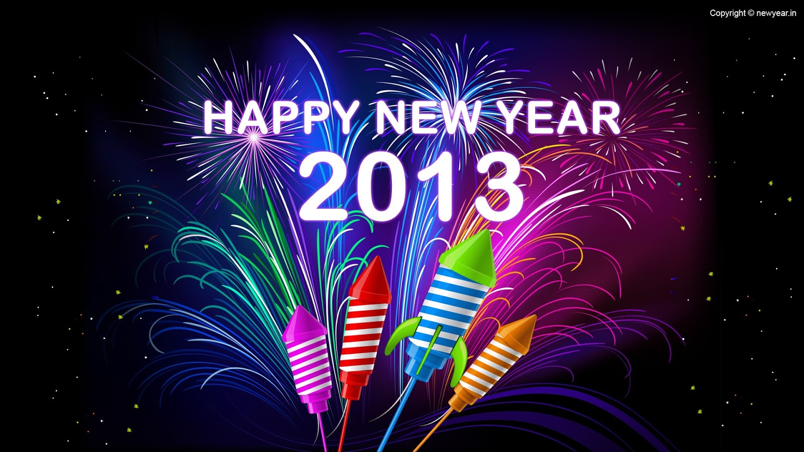 Hình nền Happy New Year 2013 | Happy New Year 2013 Wallpapers