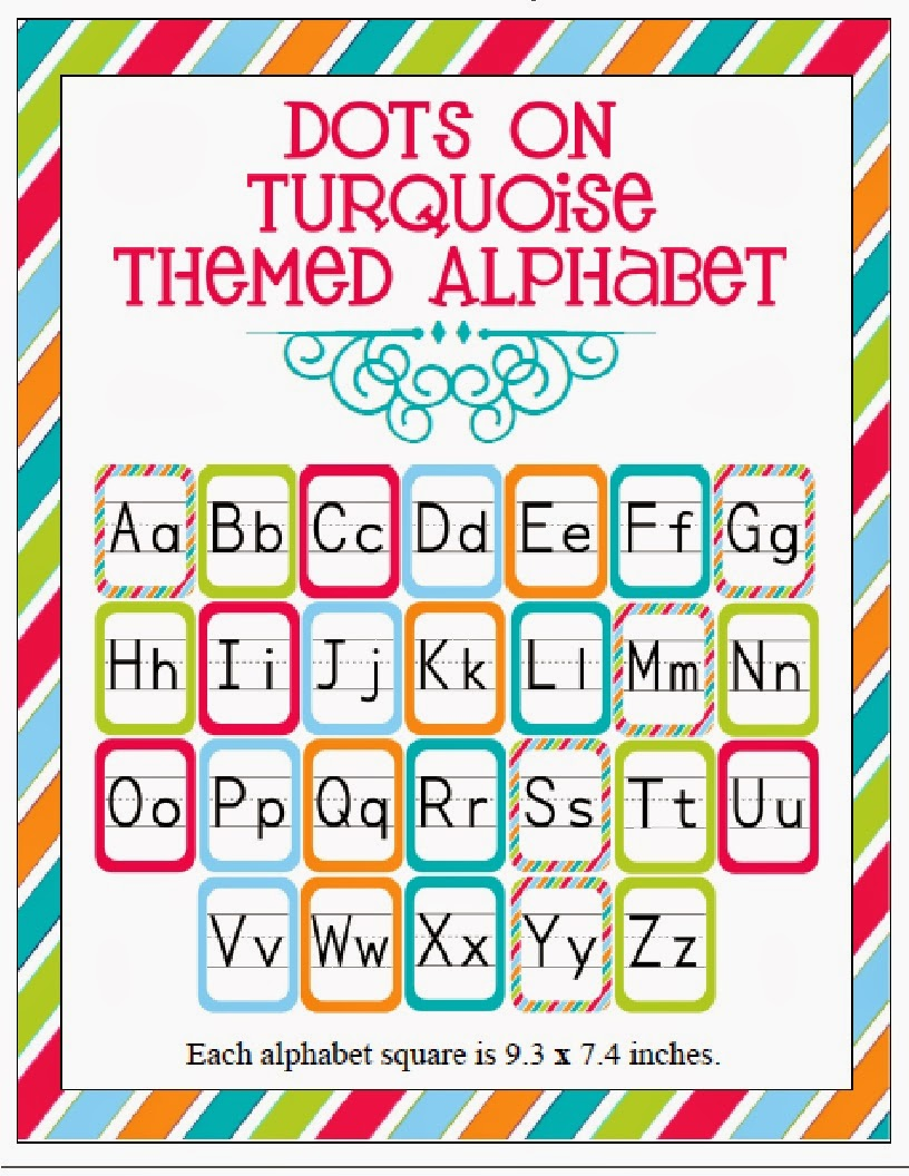 http://www.teacherspayteachers.com/Product/Turquoise-Alphabet-Set-814471
