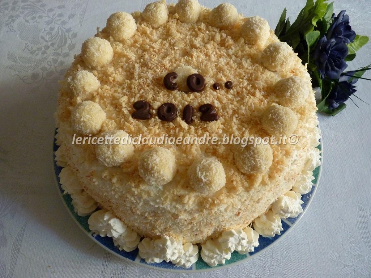 Ricetta torta kinder raffaello