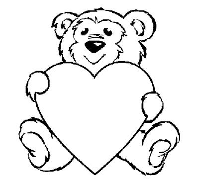 Desenhos De Ursinhos Fofos E Cutes Para Colorir Pintar Imprimir