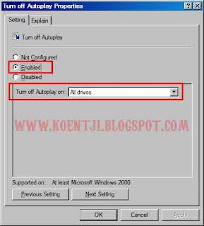 turn off autoplay properties