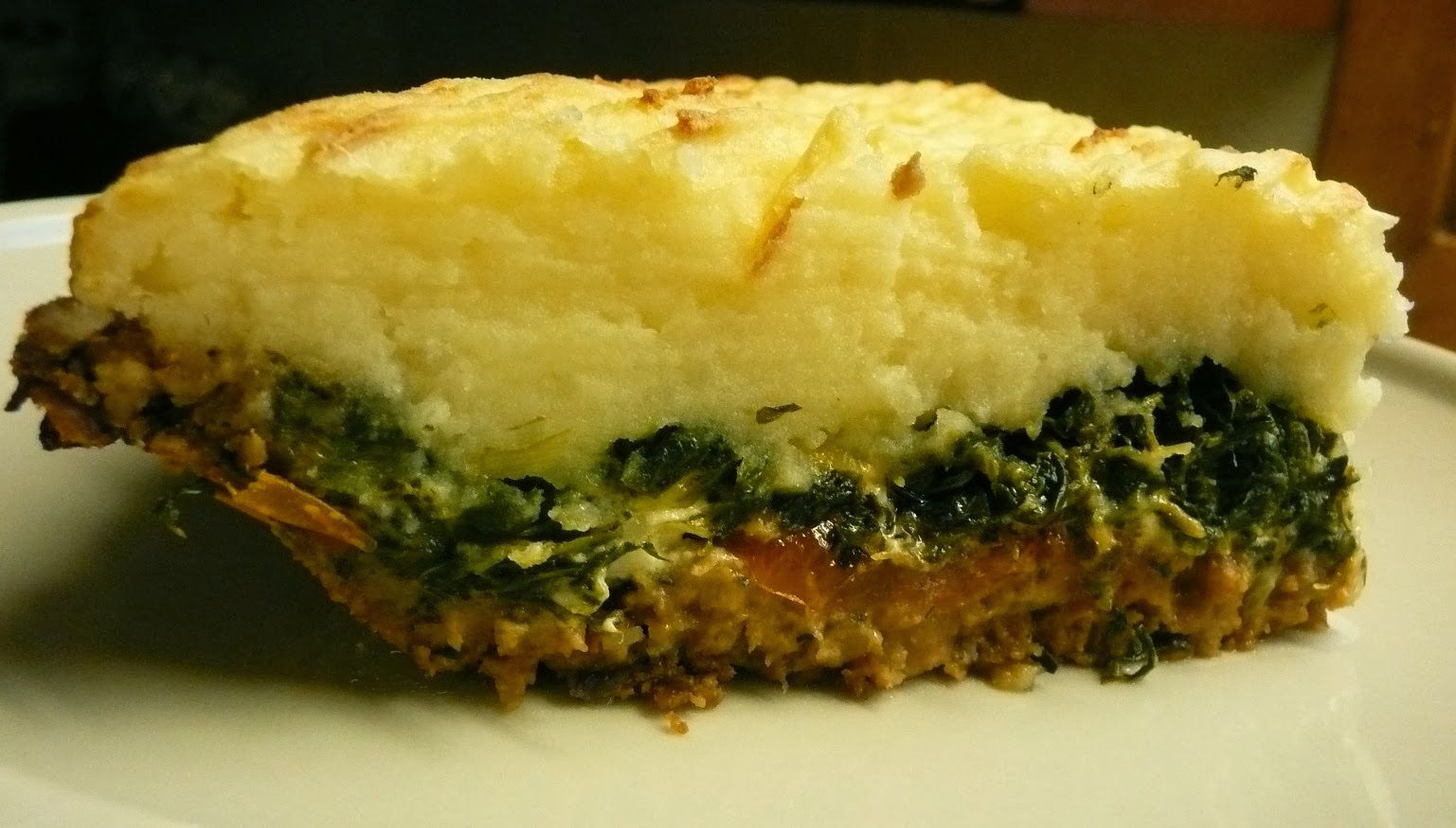 Just The Eats Ma'am: Greek Shepherd's Pie