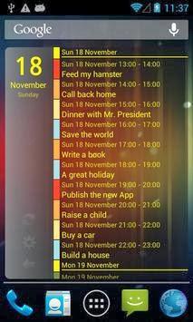 Clean Calendar Widget Pro apk free download