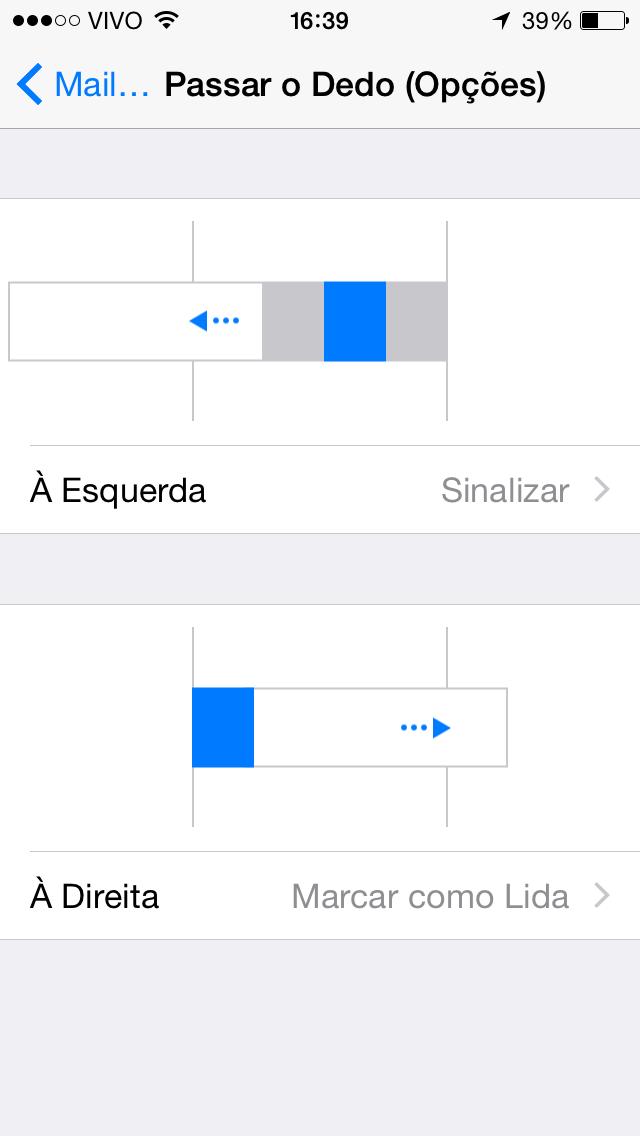 Passar o dedo iOS 8 beta 4