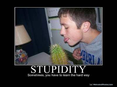 False.. stupidity will never has limit, it will always take another level.