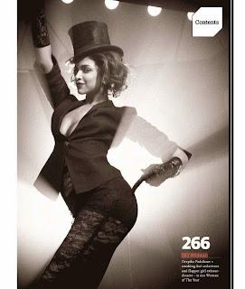 Deepika Padukone Looks Beautiful in Retro Style Pictureshoot for GQ Magazine