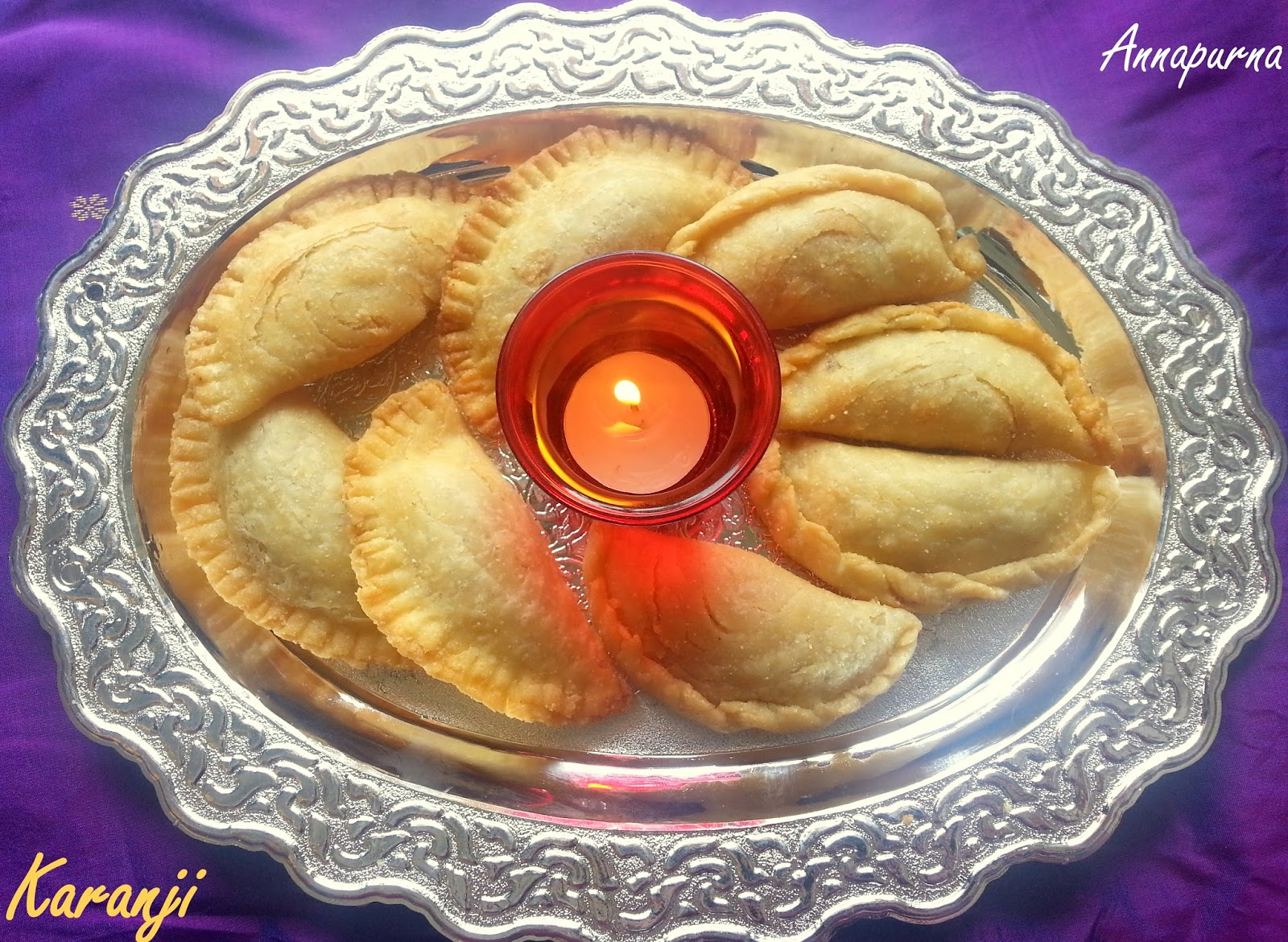 Annapurna pudachi karanji layered gujiya traditional maharashtrian fried sweet dumpling made on special occasions like diwali and ganesh chaturthi it is some what similar to north indian dish gujiya forumfinder Choice Image