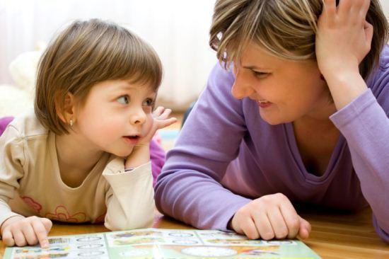 Ibu bersahabat dengan anak