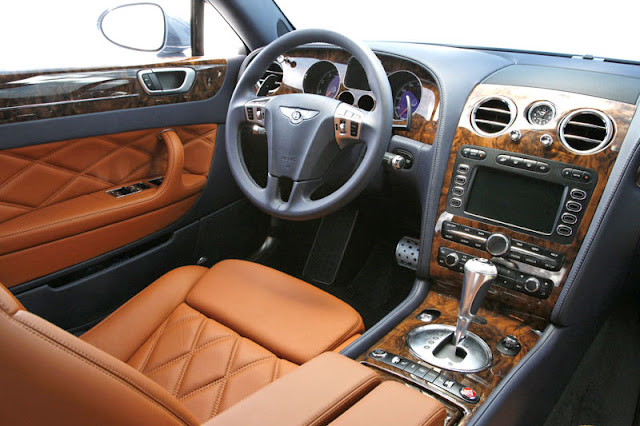 2012 Bentley Continental Flying Spur Speed Front Interior