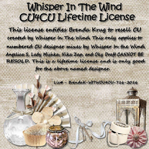 Whisper In the Wind CU4CU License