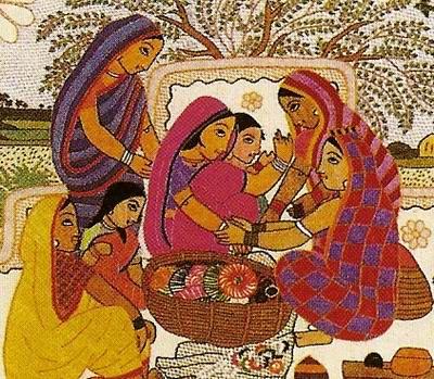 SEMIOTIC STUDY OF THE MOTIFS IN NAKSHI KANTHA | Ruhee Das