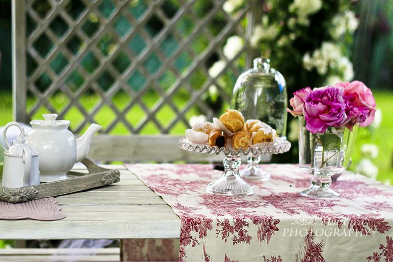 La Magia del bianco, giardino shabby chic