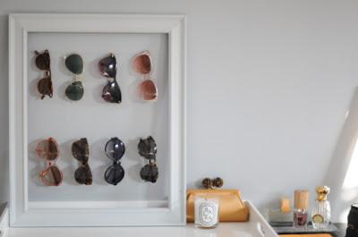 In Your Back Pocket DIY Sunglass Display Frame