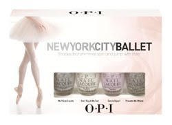 OPI adds new shades to the New York City Ballet collection