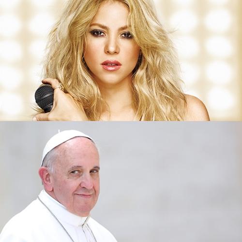 Shakira cantará para el Papa Francisco en la ONU
