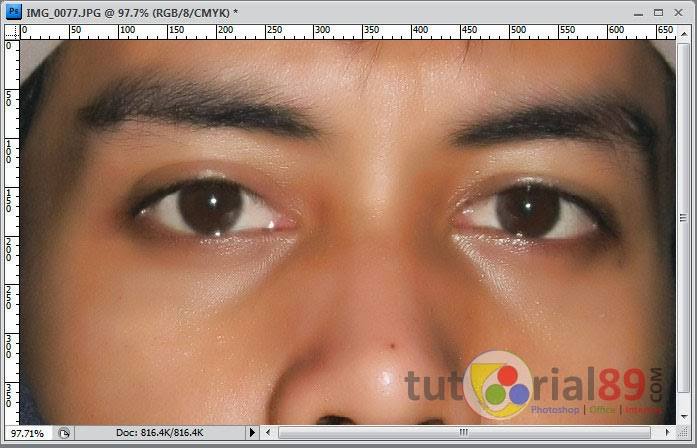Cara merubah warna mata dengan photoshop