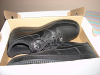 Nike Air Force 1 - Black Perforated